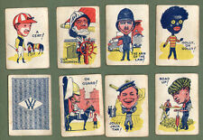 Old British cards game playing cards with  Amazing images by#041