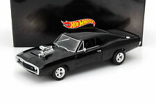 Dodge Charger RT de la película Fast and Furious 2001 negro 1:18 hotwheels