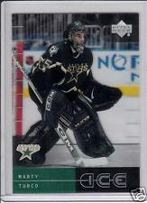 2000 - 2001 Upper Deck Ice Marty Turco Dallas Stars #69 Hockey Card - BV $15