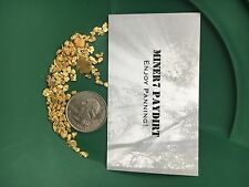 GOLD PAYDIRT 2 Pounds Of Very Rich PayDirt. Screened, Concentrated, Ready To Pan