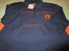 "NWT AUBURN TIGERS ""WAR EAGLE"" ~ TABASCO ~ L/S POLO STYLE GOLF SHIRT SZ: XXL (2XL"