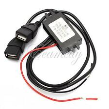 Dual Double 2 USB DC-DC Car Converter Module 12V To 5V 3A 15W Power Adapter