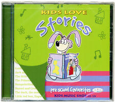 Kids Love Stories CD  Pre school favourite tales  NEW & WRAPPED from PUBLISHER