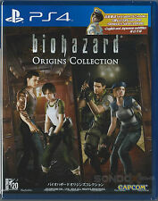 Biohazard Origins Collection HK English/Japanese Subtitle /w coustme dlc PS4 NEW