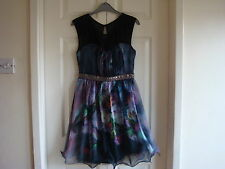 Stylish Womens House of Frazer Little Mistress dress size 10