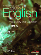 Starting Skills in English: Vocabulary and Grammar (course Book) Pt. A,Anna Phil