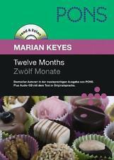 Twelve Months - Marian Keyes - Englisch hören, lernen + üben - Buch und CD