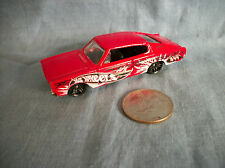 "Hot Wheels ""1967"" Red Dodge Charger Made in China"