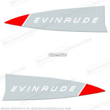 Evinrude 1965 33hp Outboard Decal Kit -Discontinued Decal Reproductions in Stock