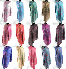 wholesale 10pc  Wedding Shawls Paisley retro viscose pashmina shawl scarf