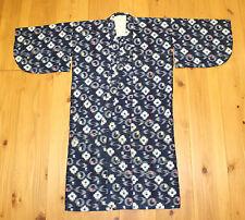 Vintage Japanese Indigo Cotton Kasuri Fabric Boro Farmer Peasant Kids Kimono
