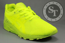 ASICS GEL-KAYANO TRAINER EVO H51DQ-0505 MONO PRINT PACK LIME DS SIZE: 11