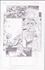 Avengers Vs X Men Page 15 Original Art Cyclops Loses Phoenix Force Historic Page