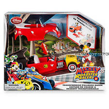 Disney Store Mickey and the Roadster Racers Transforming Pullback Racer NEW