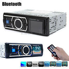 Bluetooth Car In-Dash Stereo FM Radio Audio Receiver MP3 Player SD USB Aux 12V