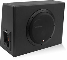 "Rockford Fosgate P300-10 300W RMS Single 10"" Amplified Subwoofer Enclosure"