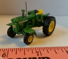 1/64 ERTL farm toy custom John deere 4020 tractor w/ chrome stack, front fenders