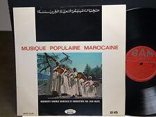 Musique populaire marocaine Receuillis par JEAN MAZEL BAM LD 435
