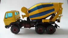 MERCEDES-BENZ 2626 MIXER YELLOW/BLUE CONRAD 1/50