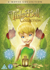 TINKERBELL 6 Film Collection DISNEY DVD BRAND NEW Region 2
