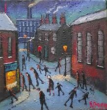 Chips !!!!! :  Original BEST Oil Painting  Famous Artist James Downie