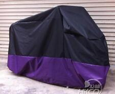 L Size Motorcycle Cover Black+Purple For Yamaha FJ600 FJ1100 FJ1200 FJR1300