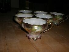 RS Prussia Cup  saucer set of  6  Reinhold Schlegelmilch