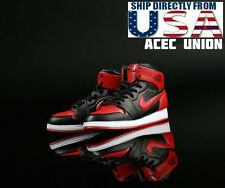 1/6 Men Shoes Nike Air Style RED For Hot Toys Phicen Male Figure U.S.A. SELLER