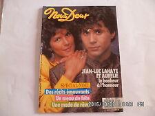 NOUS DEUX N°2112 23/12/1987 JEAN LUC LAHAYE ET AURELIE ETIENNE DAHO      G22