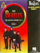 The Beatles Capitol Albums Volume 2 Capitol Records Guitar Tab Songbook