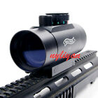 New 1x45 Reflex 5 MOA Red Green Dot Reticle Scope Sight With 20mm Rail Mount