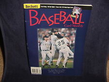 Beckett Baseball Card Monthly January 1999 Issue #166 New York Yankees
