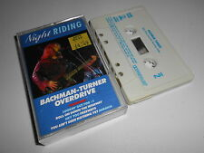 BACHMAN TURNER OVERDRIVE - NIGHT RIDING CASSETTE - You Aint Seen Nothing Yet etc