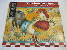 LANG 2014 KITCHEN WHIMSY CALENDAR Great Artisan Collection DISPLAYED ONLY,  EUC~