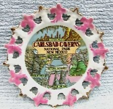 """Carlsbad Caverns National Park New Mexico Rock of Ages Vintage 8"""" Plate FREE S/H"""