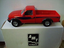 AMT/ERTL #6602, 1993 FORD RANGER STX 4X4 PICKUP TRUCK, PERFORMANCE RED, MIB
