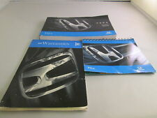 2004 HONDA PILOT OWNERS MANUAL WARRANTY INFO FREE SHIPPING QUICK START GUIDE