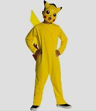 Pokemon PIKACHU Costume size 4-6 Small childs Halloween kids New Nintendo