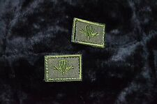 2 Russian airborne troops,VDV cloth branch insignia ground forces patch