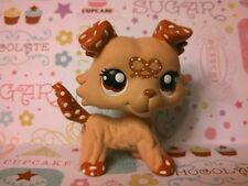 Collie Dog Salty Pretzel * Snack Series * OOAK Painted Custom Littlest Pet Shop