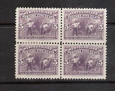 Newfoundland #65 VF Mint Block