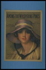 305001 Among The Whispering Pines Copyright 1919 A4 Photo Print