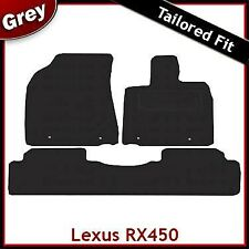 Lexus RX450 Tailored Fitted Carpet Car Mats GREY (2009 2010 2011 2012)