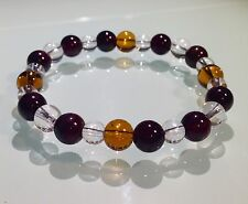 ENERGY IMPROVEMENT & RELEASE BAD KARMA - BOHO CRYSTAL HEALING GEMSTONE BRACELET