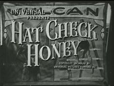 HAT CHECK HONEY  1944 (DVD) LEON ERROL, GRACE MCDONALD