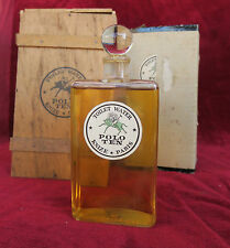flacon à parfum ancien Polo Ten - Knize * Paris - old perfume bottle - boite ..