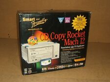 Smart & Friendly CD Copy Rocket Duplicator Stand Alone 12X Mach 12