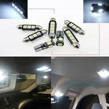 White LED Interior Light Package Kit 10 Bulb 6000k FIT Volkswagen Polo Vento W1