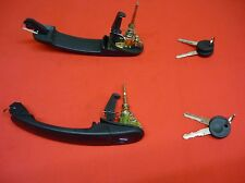 VW Golf MK3 door handle lock with 2 keys / front left & right 377837205L / CH50
