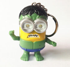 Cartoon Hulk Light Up LED Torch With sound Keyring KeyChain GIFT UKYS174